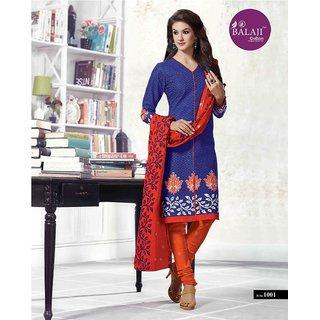 Balaji Cotton Unstitch Dress Material