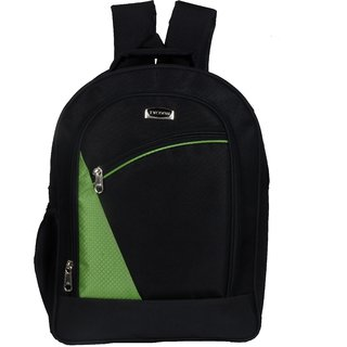Mody  Compeny Black Casual Nylon Backpack