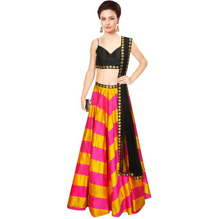 khantil New Colourfull  Attractive For Special Navratri Collection Lahenga Choli