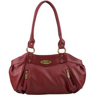 Fostelo Women s Swan Shoulder Bag Maroon fc4f6222621a6