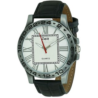 Zeit silver casual watch for mens