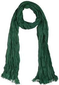 Raa Colours Women's Cotton Dupatta Green