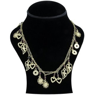 WOAP By Trisha Jewels Stunning Beach  Handicrafted Necklace For Beach's  Rain Party.(GHN-2167A)