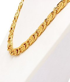 GoldNera Gold Plated Pendant with Earrings Only For Women-GEthickchain2