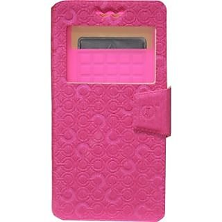 Jojo Flip Cover for LG Nitro HD (Exotic Pink)