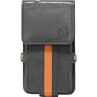 Jojo Holster for LG Motion OneTouch 4G MS770 (Black, Orange)