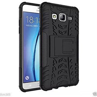 Hybrid Dual Layer SHOCKPROOF Kickstand Hard Case Cover Samsung Galaxy On5 / on5