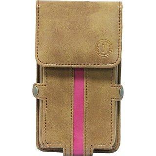 Jojo Holster for Asus Zenfone 4 8GB (Tan, Pink)
