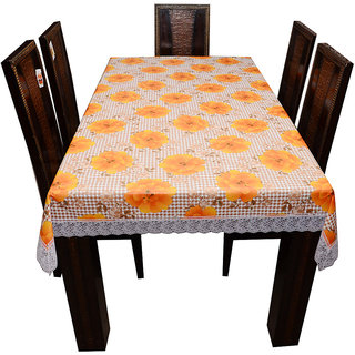Decor Club Dining Table Cover Printed 6 Seater