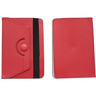 Jo Jo Flip Cover for Videocon VA81M (Red)