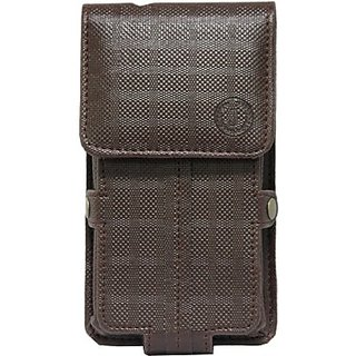 Jojo Holster for Micromax X330 (Brown)
