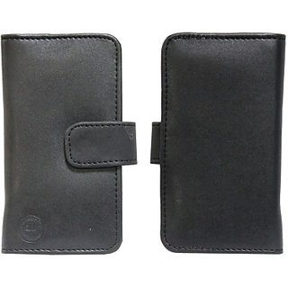 Jojo Flip Cover for Panasonic Eluga DL1 (Black)