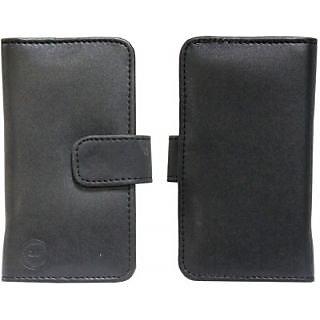 Jojo Flip Cover for Samsung Galaxy Ace 3 LTE (Black)
