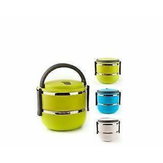 db16522a60e Buy Satya Lunch Box Double Tiffin Box 2 Layers Hot Box Online ...