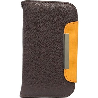 Jo Jo Flip Cover for Motorola Droid RAZR (Brown, Orange)