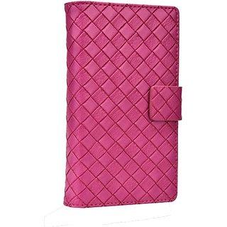 Jojo Flip Cover for LG Optimus L5 Ii (Hot Pink)