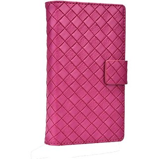 Jojo Flip Cover for Motorola Atrix (Hot Pink)