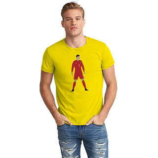 The Fappy Store  Cristano Ronaldo Half Sleeve T-Shirt