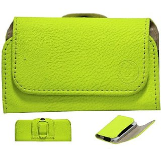 Jojo Holster for Celkon A200 (Parrot Green)