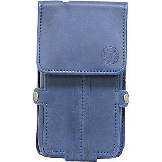 Jo Jo Pouch for Sony Xperia E1 Dual (Dark Blue)