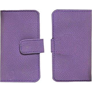 Jojo Flip Cover for Apple iPhone (Purple)