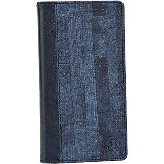 Jojo Wallet Case Cover for BLU Studio G (Dark Blue)