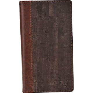 Jojo Wallet Case Cover for Archos 50 Platinum (Dark Brown)