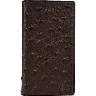 Jojo Wallet Case Cover for BLU Studio 5.3 II (Brown)