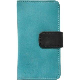 Jojo Flip Cover for Acer Stream (Light Blue, Black)