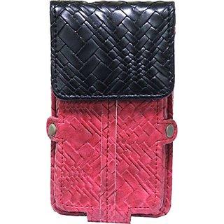 Jojo Holster for Fly Mobile F41s (Red, Black)