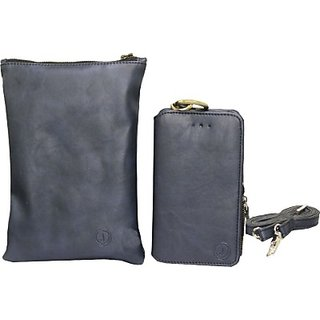 Jojo Pouch for XOLO Q510s (Dark Blue)