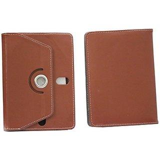 Jojo Flip Cover for SamsungGalaxy Tab 2 P3110 (16Gb) (Brown)