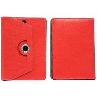 Jojo Flip Cover for Asus Memo Pad Me172V (Red)