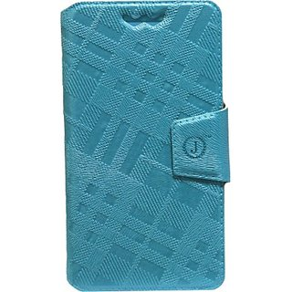 Jojo Flip Cover for ZTE Geek V975 (Light Blue)