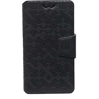 Jojo Flip Cover for Huawei Ascend G630 (Black)