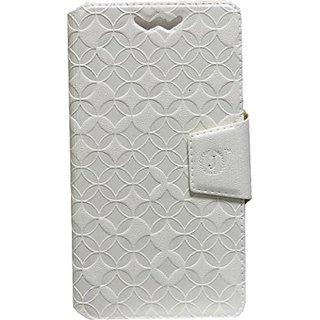 Jojo Flip Cover for LG Optimus G E970 (White)