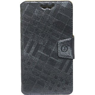 Jojo Flip Cover for Spice Stellar 520 (Light Gray)