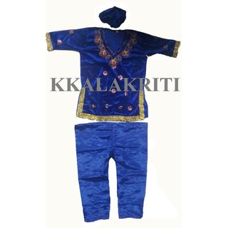 Kashmiri Dance Fancy Dress Costume For Girl Kids