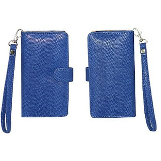 Jo Jo Pouch for Micromax Canvas Doodle 2 A240 (Exotic Blue)