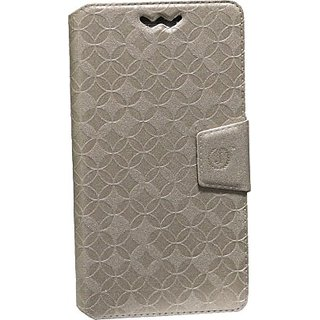Jojo Flip Cover for Karbonn Titanium S19 (Gold)