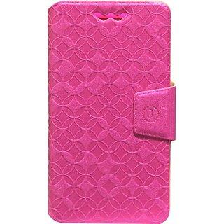 Jojo Flip Cover for Motorola Moto G (Gen 2) LTE (Dark Pink)