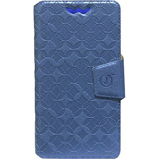 Jojo Flip Cover for Huawei Honor Holly (Exotic Blue)