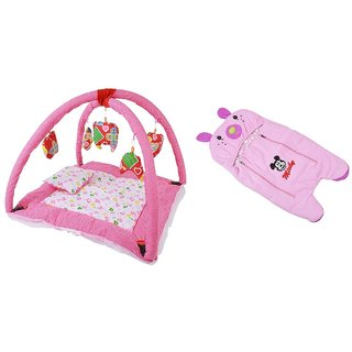 CHHOTE JANAB BABY BEDDING / PLAY GYM AND BABY BLANKET/ WRAPPER/ SLEEPING BAG