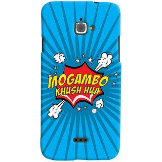 Oyehoye Mogambo Khush Hua Quirky Printed Designer Back Cover For Infocus M350 Mobile Phone - Matte Finish Hard Plastic Slim Case