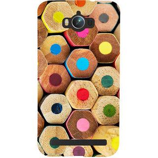 Oyehoye Colourful Pattern Style Printed Designer Back Cover For Asus Zenfone Max ZC550KL Mobile Phone - Matte Finish Hard Plastic Slim Case