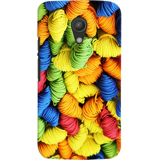 Oyehoye Colourpul Pattern Style Printed Designer Back Cover For Motorola Moto G2 / Second Generation Mobile Phone - Matte Finish Hard Plastic Slim Case