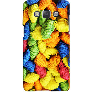 Oyehoye Colourpul Pattern Style Printed Designer Back Cover For Samsung Galaxy A7 (2015) Mobile Phone - Matte Finish Hard Plastic Slim Case
