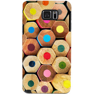 Oyehoye Colourful Pattern Style Printed Designer Back Cover For Samsung Galaxy Note 5 Dual Sim / Edge Plus Mobile Phone - Matte Finish Hard Plastic Slim Case