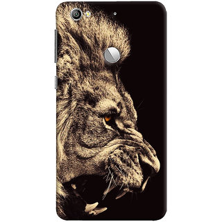 Oyehoye Lion The King Of Jungle Printed Designer Back Cover For LeEco LE1S Mobile Phone - Matte Finish Hard Plastic Slim Case