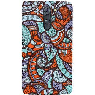 Oyehoye Colourful Abstract Art Printed Designer Back Cover For LG G3 Stylus / Optimus G3 Stylus Mobile Phone - Matte Finish Hard Plastic Slim Case